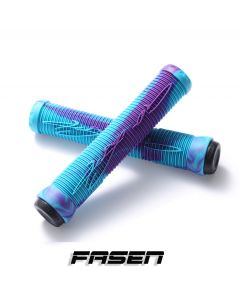 Fasen V2 Hand Grips - TEAL/PURPLE
