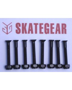 SKATEGEAR Skateboard Hardware 1 1/2 inch (set of 8)