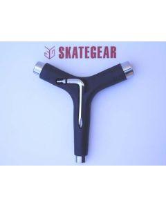 Skateboard Y-Tool Black