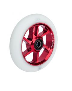 UrbanArtt S7 100mm Wheel - RED/WHITE