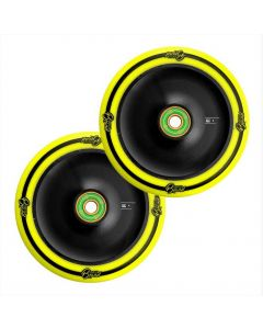 UrbanArtt CLASSIC Wheels - 120mm - YELLOW