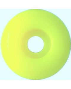 Blank Skateboard Wheels 52mm LIGHT YELLOW (set of 4)