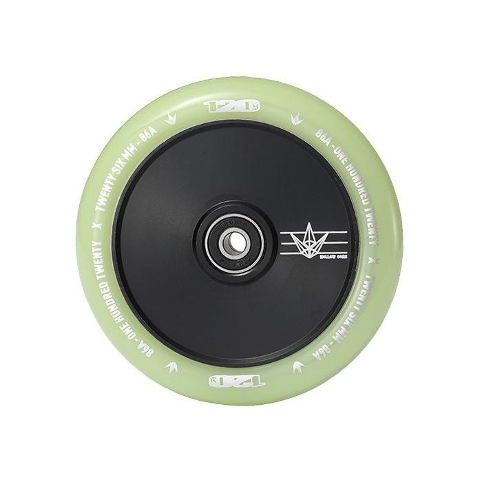 ENVY 120mm HOLLOW CORE Wheel - GLOW IN THE DARK