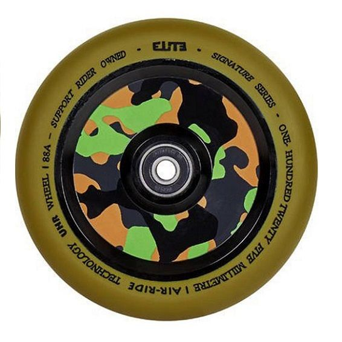 ELITE Air Ride 110mm Wheel - GUM / CAMO