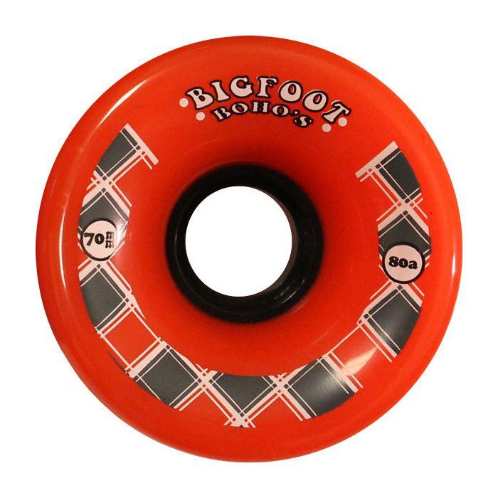 Bigfoot Wheels 70mm 80a Boho Orange