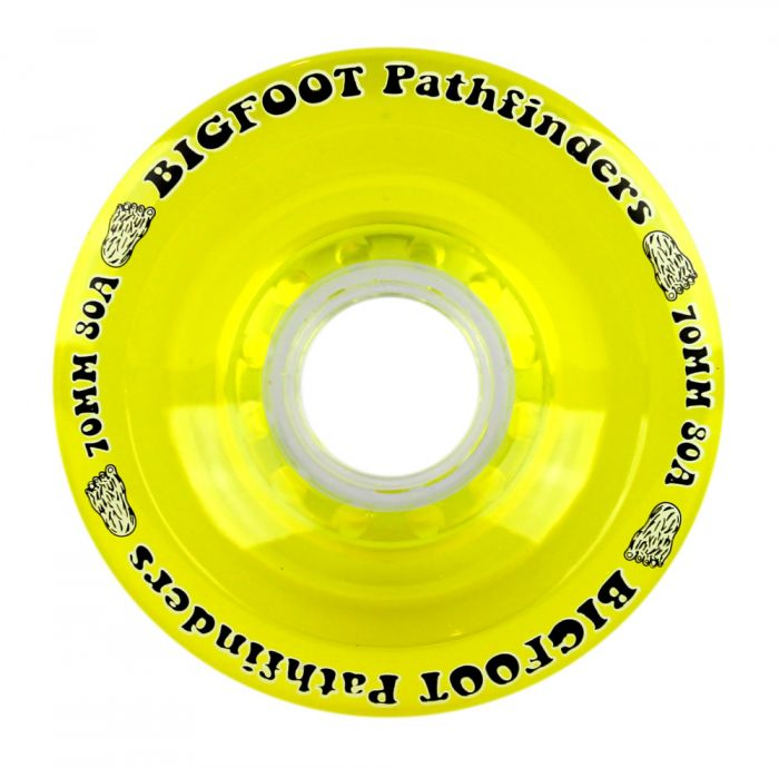 Bigfoot Wheels - 70mm 80a Pathfinders Yellow