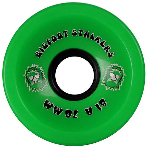Bigfoot Wheels 70mm 81a Stalkers Green