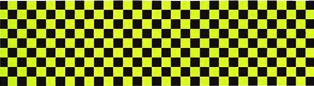 Skateboard Grip Tape 9 x 33 Yellow Checker