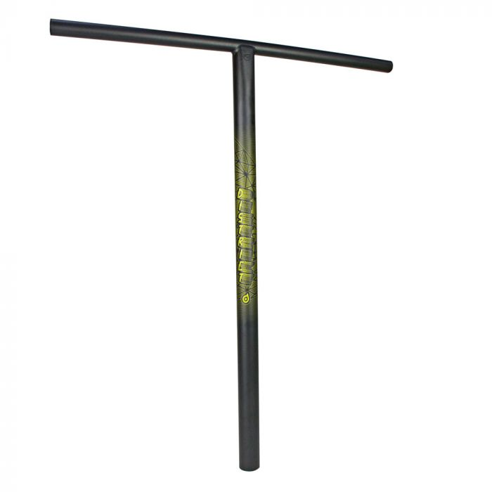 District BT700 Chromo Big T Bar  - BLACK PEARL OVERSIZED