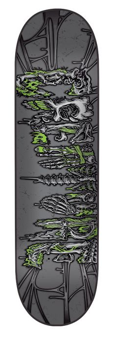 CREATURE Skateboard Deck CATACOMBS LG 8.1