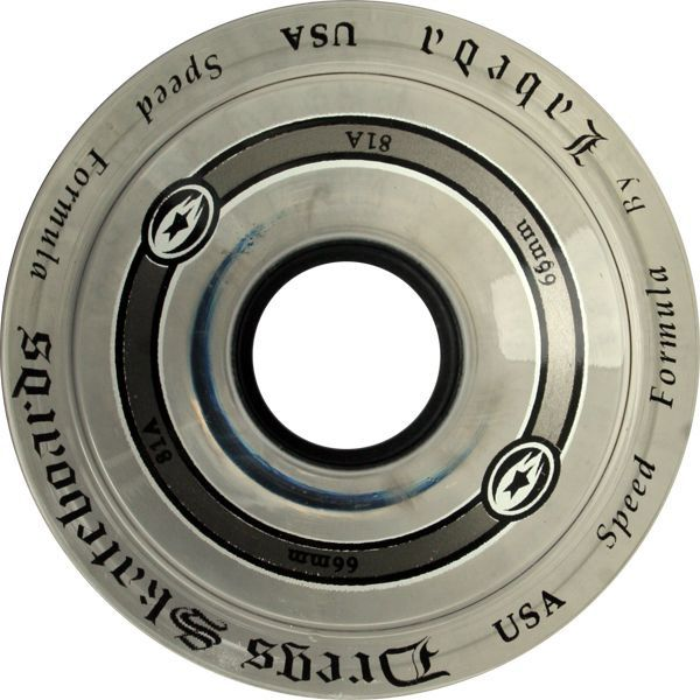 Dregs Labeda Race Wheels 66mm 81a Clear