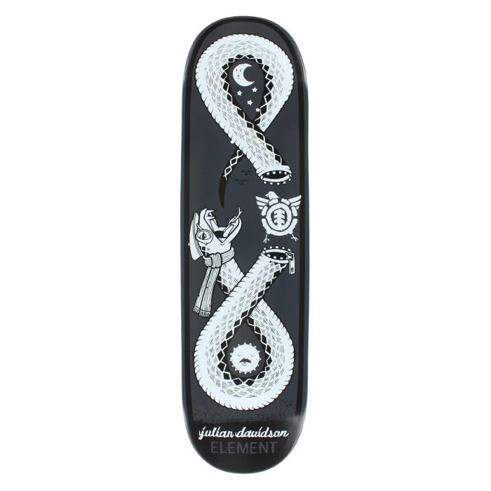 ELEMENT Skateboard Deck DAVIDSON ZIPPER 8.5