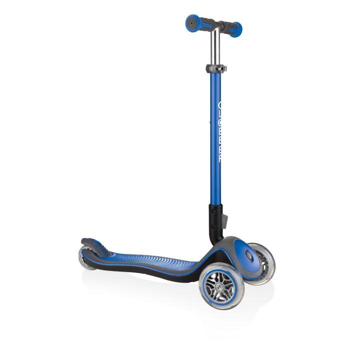 GLOBBER Kids 3 Wheel ELITE DELUXE - Navy Blue