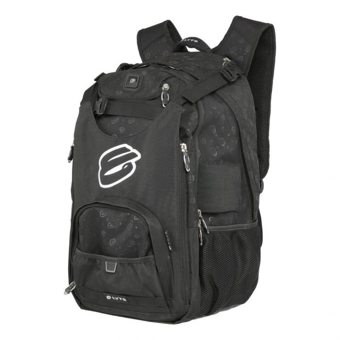 ELYTS Scooter Backpack - BLACK/WHITE