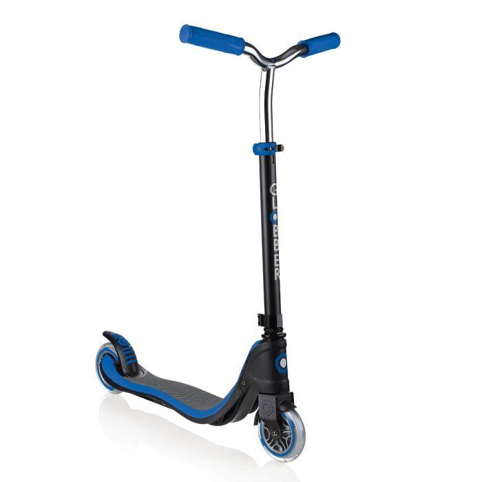 GLOBBER Flow 125 Scooter - Black/Navy/Blue