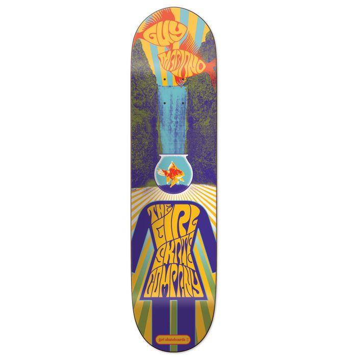 GIRL Skateboard Deck MARIANO FILLMORE 8.25