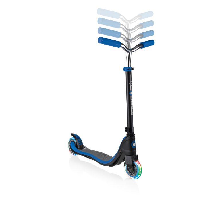 GLOBBER Flow 125 Lights Scooter - Black/Blue