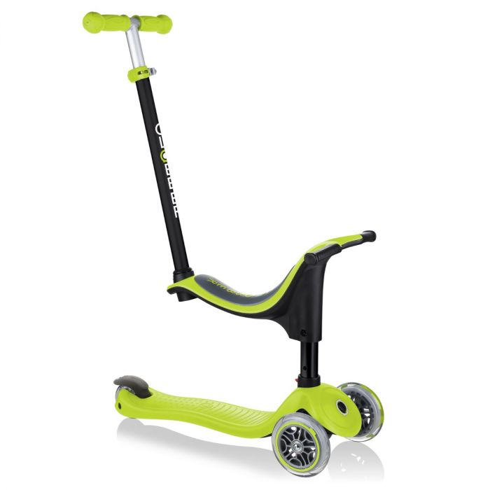 Globber GO UP SPORTY - Lime Green