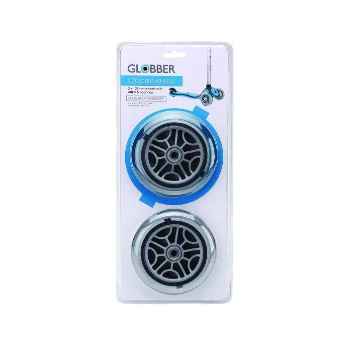Globber 121mm Wheels for Evo/Primo/Elite/Flow(Pair)