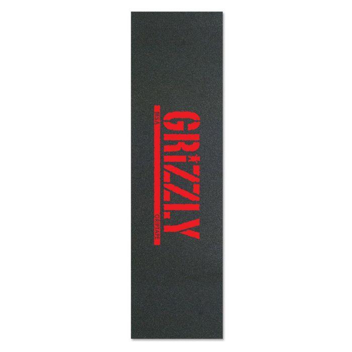 GRIZZLY Skateboard Grip Tape  STAMP OUT