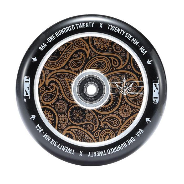 ENVY 120mm  HOLLOW CORE Wheel - BANDANA