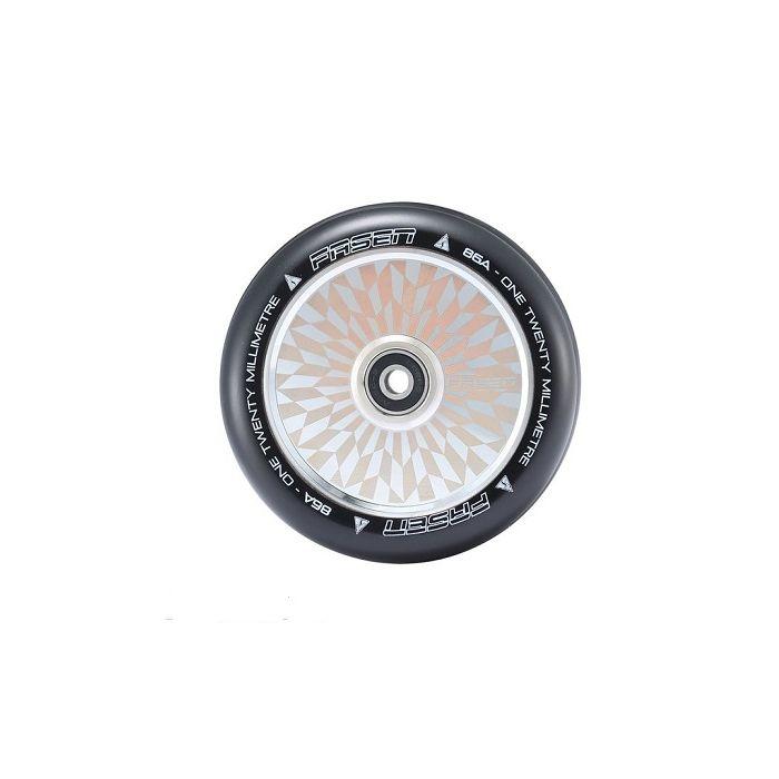 FASEN 120mm Hollow Core Wheel - HYPNO OFFSET - CHROME