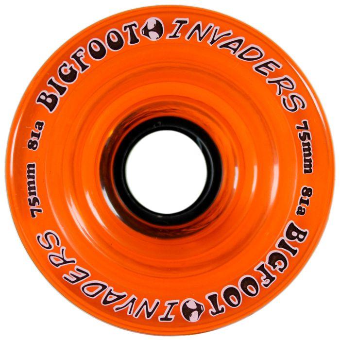 Bigfoot Wheels 75mm 81a Invaders Orange
