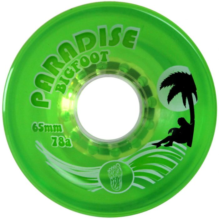 Bigfoot Wheels - 65mm 78a Islanders Green