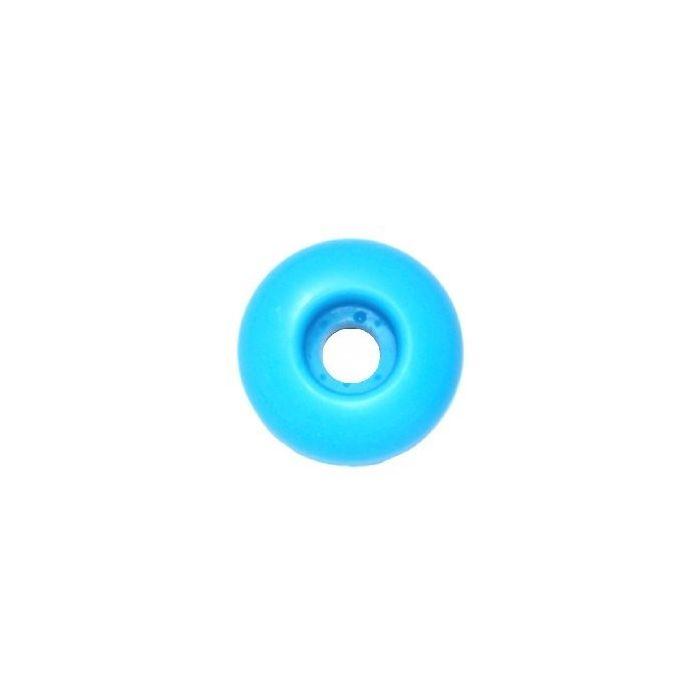 Blank Skateboard Wheels 50mm LIGHT BLUE (set of 4)