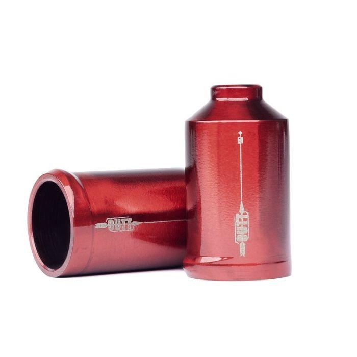 UrbanArtt Cutt Pegs - Chromoly - RED (No Axles)