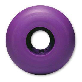 Blank Skateboard Wheels 50mm PURPLE (set of 4)