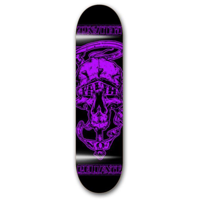 RELIANCE Skateboard Deck FAITH PURPLE 8.0