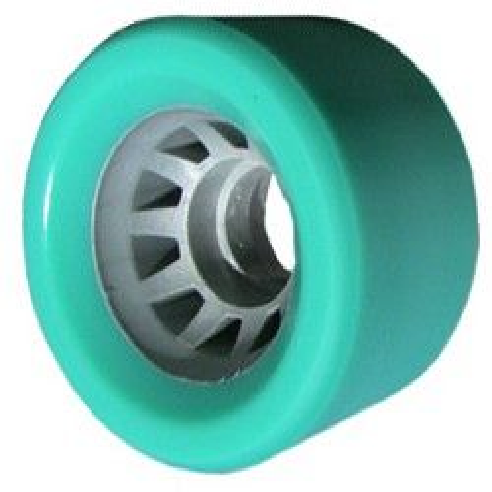 Roller Skate Wheels  62mm 95a Blue