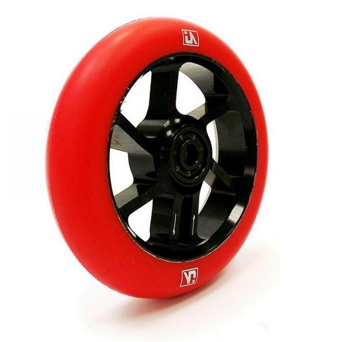 UrbanArtt S7 100mm Wheel - BLACK / RED