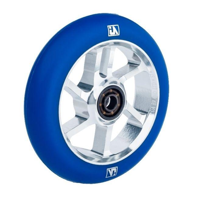 UrbanArtt S7 100mm Wheel - CHROME / BLUE