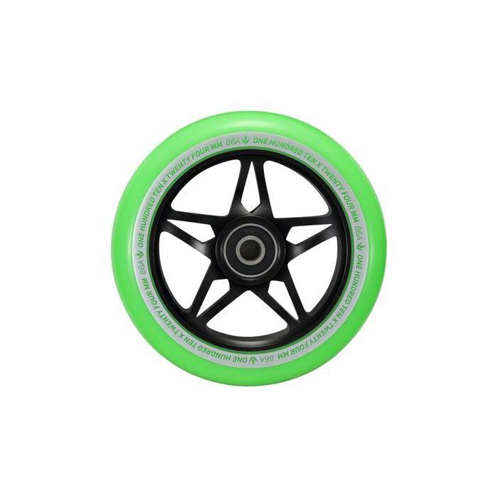 ENVY 110mm S3 Wheel Black/Green