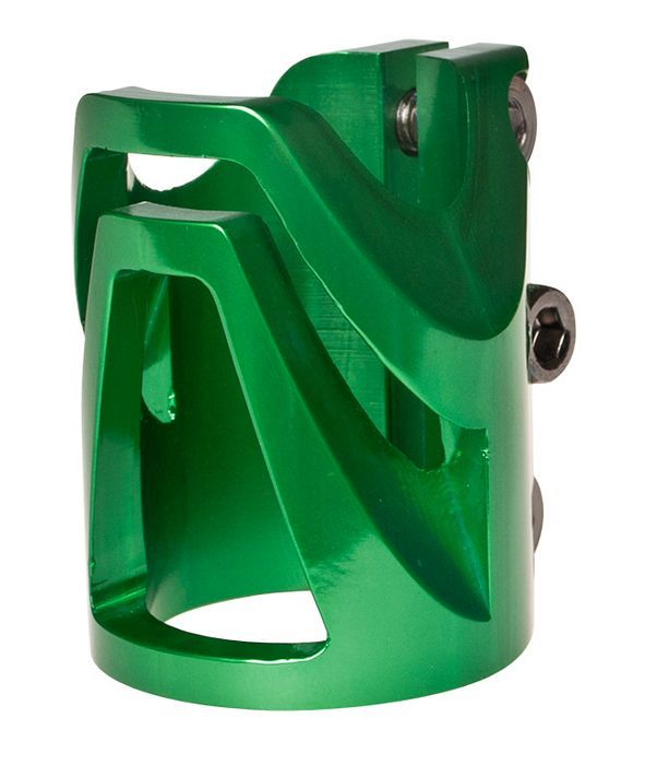 District Triple Light Clamp GREEN - Standard