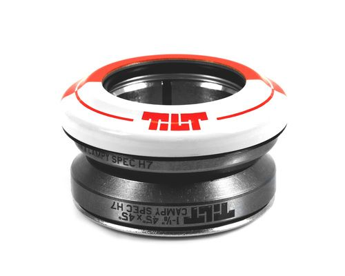 TILT Fifty Fifty Integrated Headset - RED/WHITE
