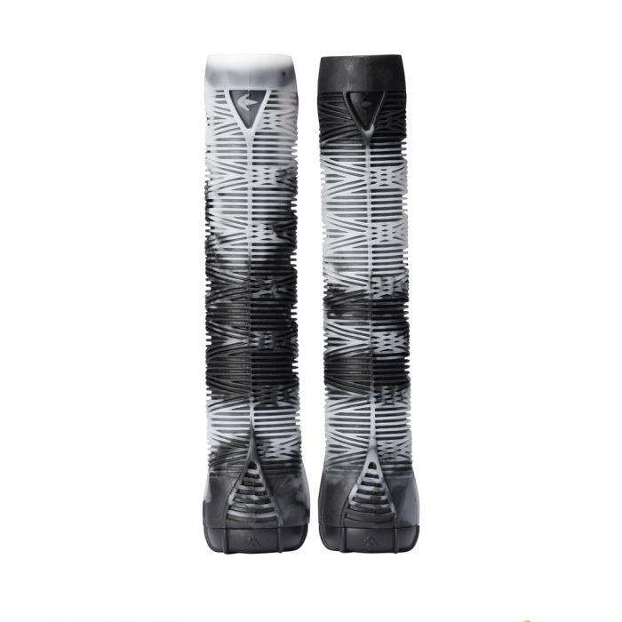 ENVY V2 Scooter Grips - WHITE/BLACK