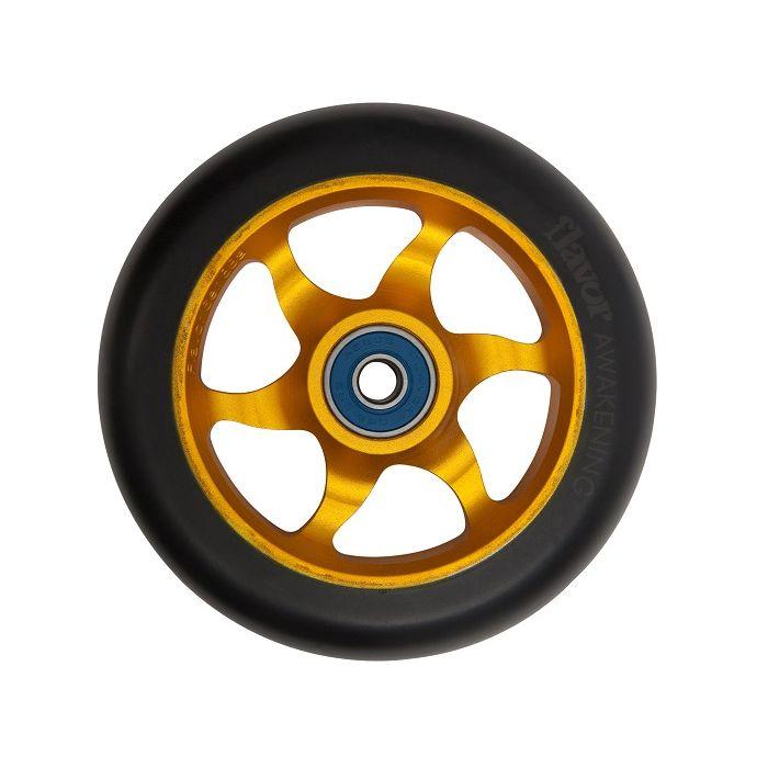 Flavor 110mm Awakening Wheel - GOLD/BLACK