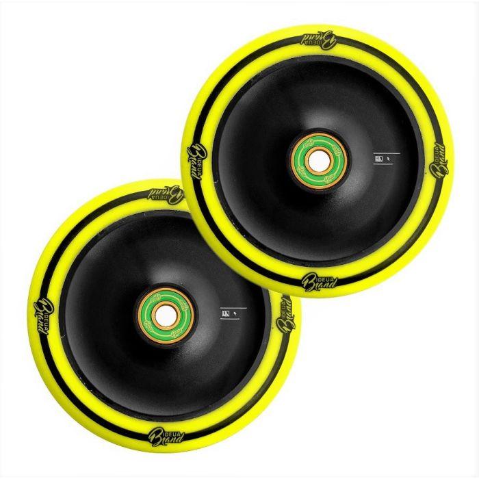 UrbanArtt CLASSIC Wheels - 120mm - YELLOW