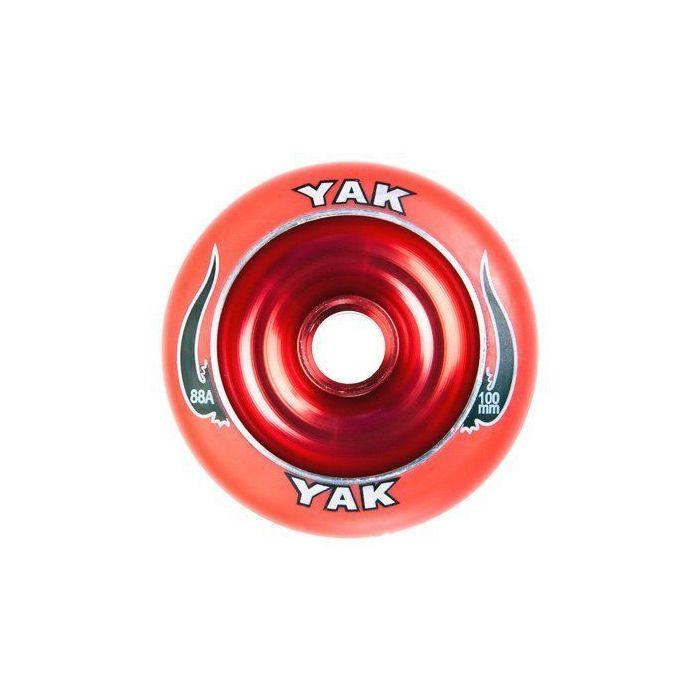 YAK Wheel 100mm -  RED