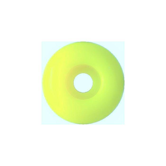 Blank Skateboard Wheels 52mm LIGHT YELLOW (set of 4)