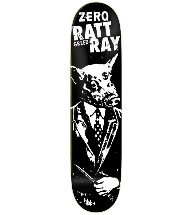 ZERO R7 EPOXY Skateboard Deck RATTRAY GREED 8.25